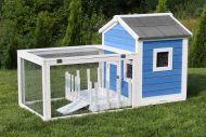 Cage en bois maison avec jardin MH-25