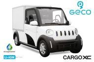 Voiture électrique CEE Geco CARGO fourgon XC 7.5kW lithium