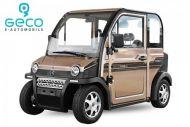 Voiture électrique CEE Geco Travel X4 4kW