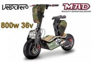 Scooter électrique 6'' Velocifero 800W 36V MAD. OFFROAD