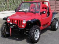 Buggy 800cc JEEP800 4x2 CEE 2 places