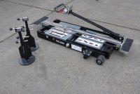 Mini pont élévateur mobile pneumatique 1.55M 2.5T